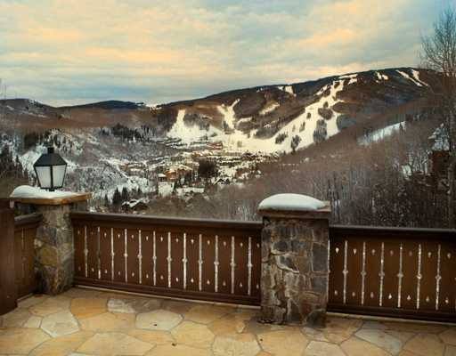 Vail Ski Mountain Views