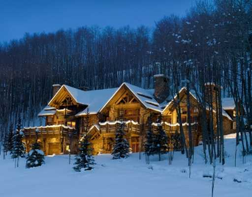 Bachelor Gulch Colorado Log Home