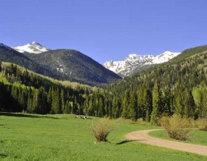 Lake Creek Ranch near Vail, Colorado