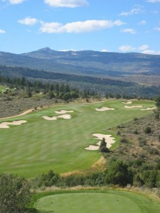 4th Hole on Norman Course, Red Sky Ranch