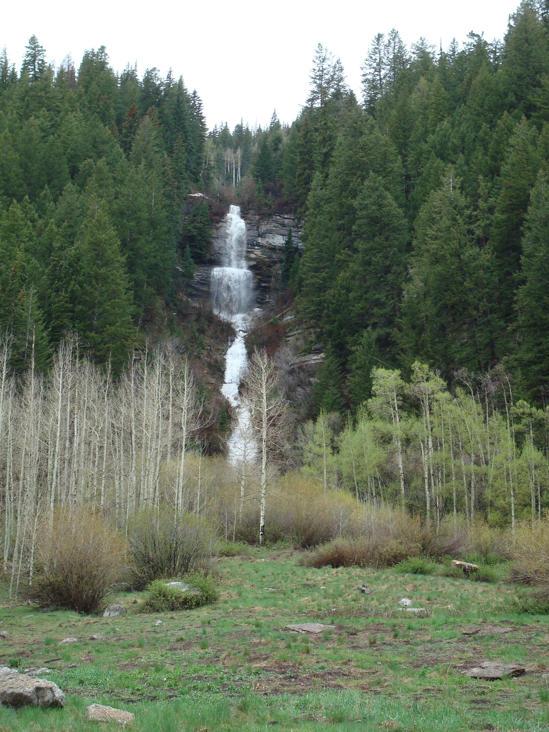 East Vail Waterfall property