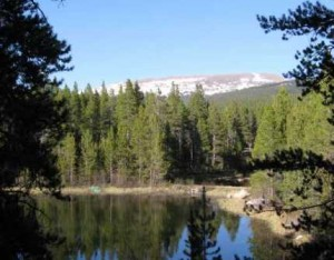 Lot on Trout Pond with Mountain Views