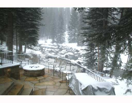 Enjoy views of Gore Creek from Vail Home
