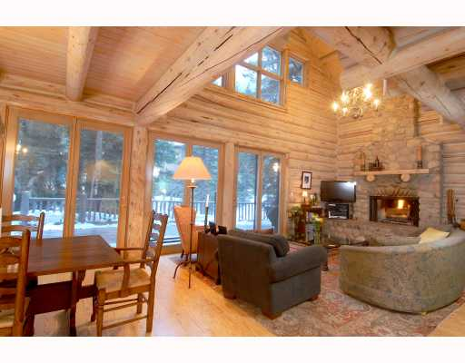 Vail Log Home on Gore Creek