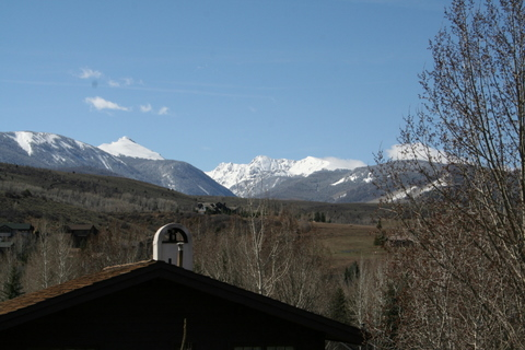 View South to Sawatch Range & NY Mountain
