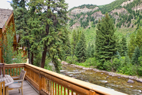 The Eagle River in Minturn, CO
