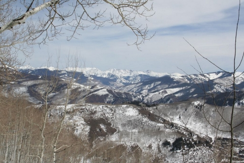 View to the Gore Range from Bachelor Gulch