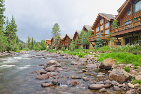 Log Cabins at the Minturn Racquet & Trout Club